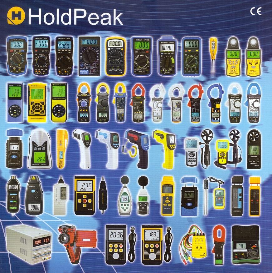 HoldPeak katalógus