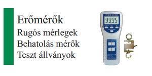 PCE Erőmérők